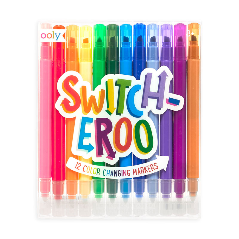Switch-eroo Color Changing Markers (set of 12)