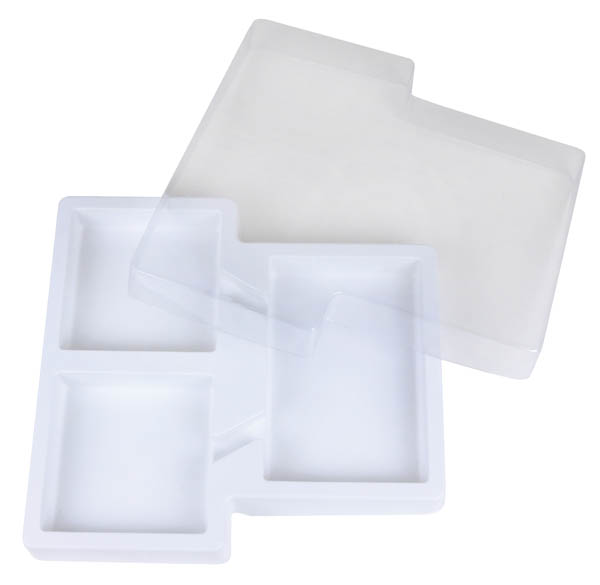 Part Part Whole Tray with Lid (set of 3)