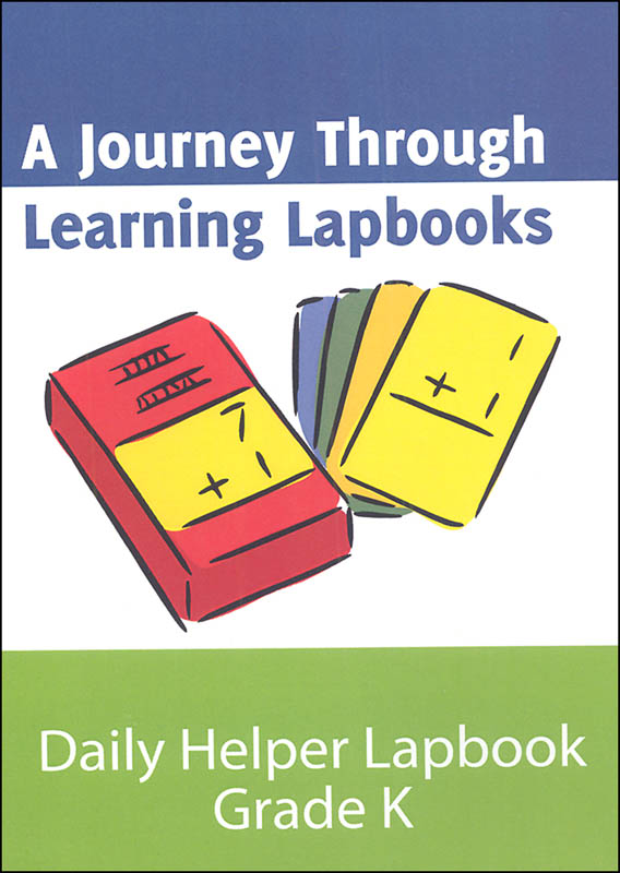 Daily Helper Grade K Math Lapbook pdf (on CD ROM)