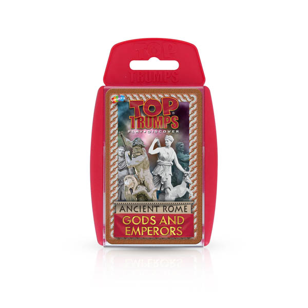 Top Trumps Card Game - Ancient Rome Gods and Emperors