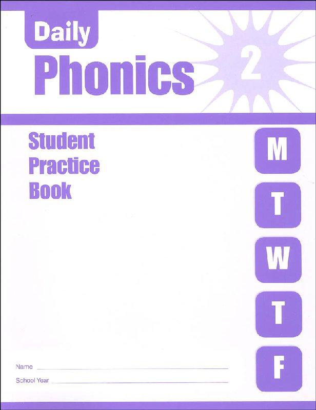 Daily Phonics Grade 2 - Individual Student Workbook