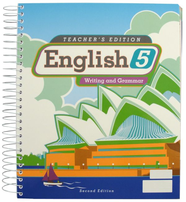 Writing/Grammar 5 Teacher Edition  2nd Edition