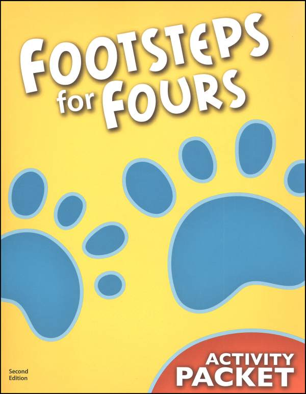 Footsteps K4 Student Activity Packet 2ED