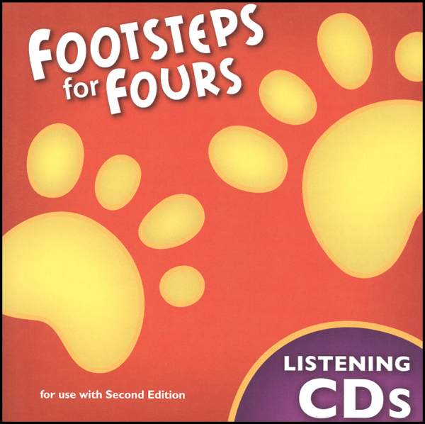 Footsteps K4 Listening Cd Set 2ED