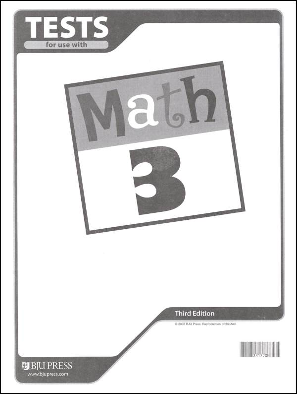 Math 3 Testpack 3rd Edition