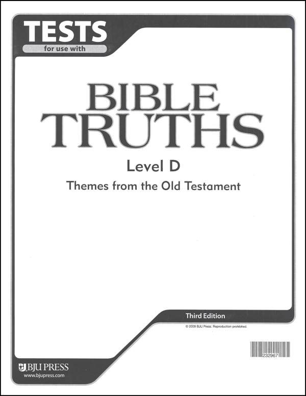 Bible Truths D Tests 3ED