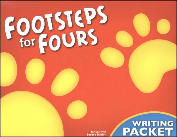 Footsteps K4 Student Writing Packet 2ED