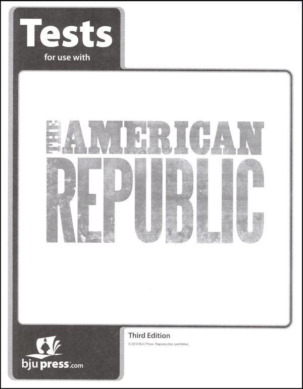 American Republic Tests 3ED