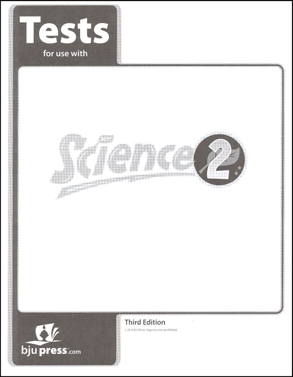 Science 2 Testpack 3rd Edition