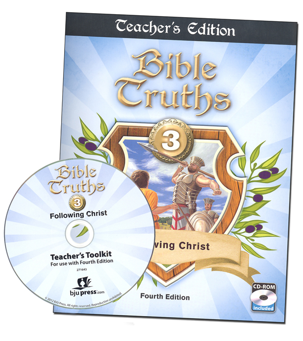 Bible Truths 3 Teacher Edition with CD 4th Edition
