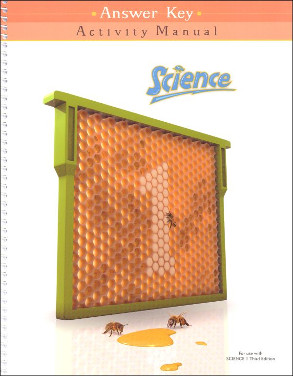 Science 1 Activity Manual Answer Key 3rd Edition