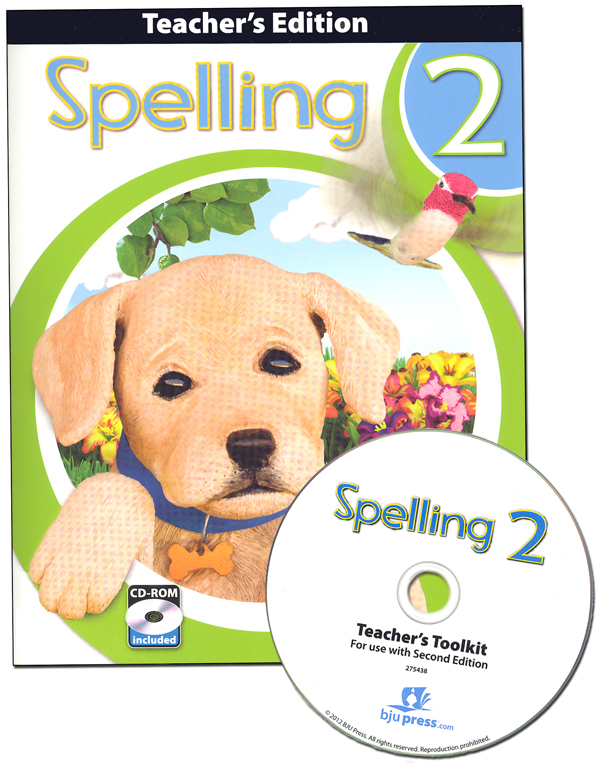 Spelling 2 Teacher Edition with CD 2nd Edtn