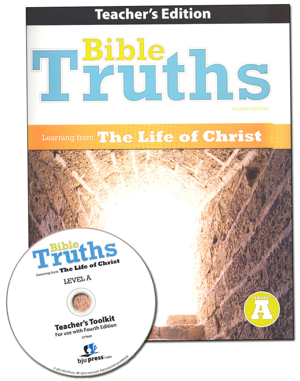 Bible Truths A Teacher Edition with CD 4th ED