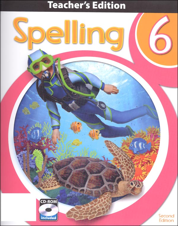 Spelling 6 Teacher Book & CD 2nd Edition