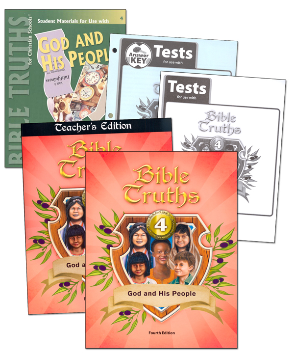 Bible Truths 4 Home School Kit 4th Edition