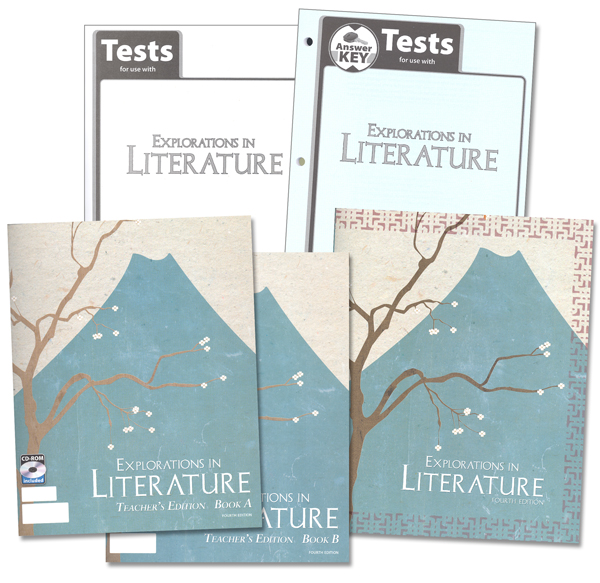 Explorations in Literature 7 Home Schl Kit 4E