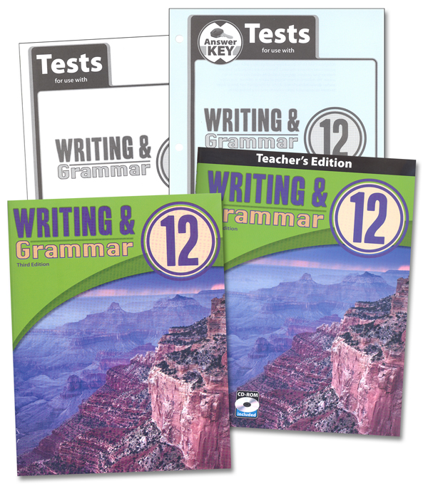 Writing/Grammar 12 Home School Kit 3rd Edition