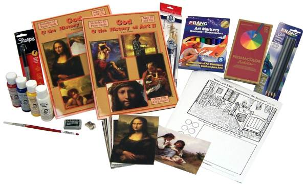 God & the History of Art Deluxe Art Package