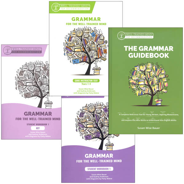 Grammar for the Well-Trained Mind: Complete Purple Package