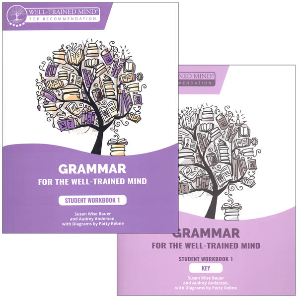 Grammar for the Well-Trained Mind: Purple Workbook & Key