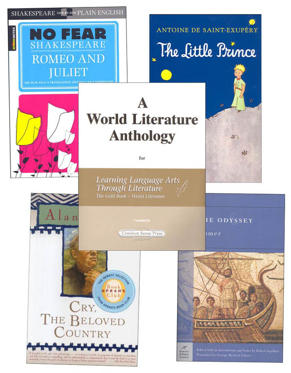 Learning Language Arts Through Literature Gold Book Package - World Literature