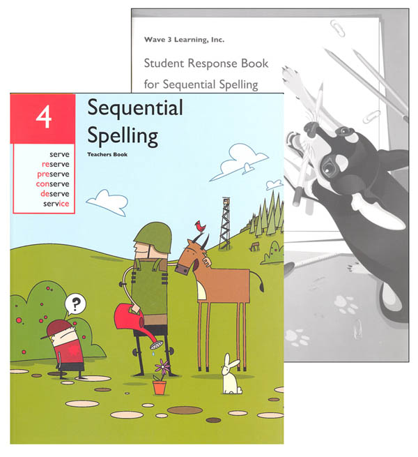 Sequential Spelling Level 4 Revised with Student Response Booklet
