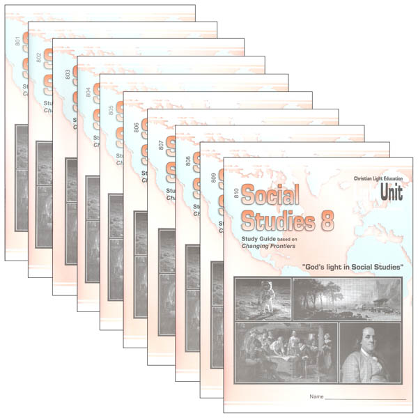 Social Studies 801-810 LightUnit Set Sunrise Edition