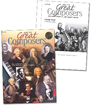 Meet the Great Composers Classroom Kit, Book 1
