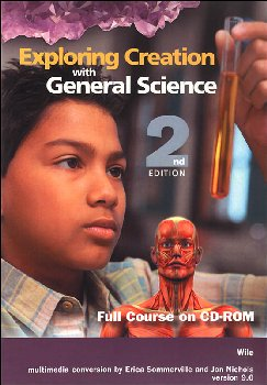 Exploring Creation with General Science Course on CD-ROM