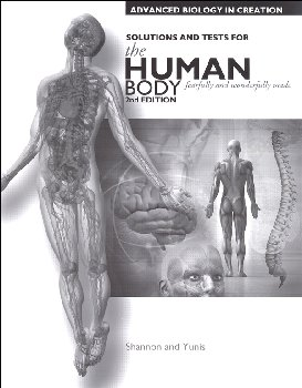 Advanced Biology: Human Body Tests & Solutions Manual 2nd Edition