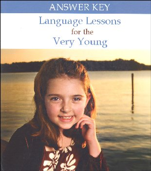 Language Lessons for the Very Young Volume 1 Answer Key