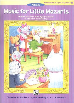 Music for Little Mozarts Notespeller & Sight-Play Book 4