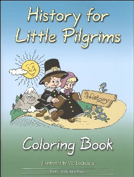 History for Little Pilgrims Coloring Book