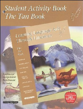 Learning Language Arts Through Literature Tan Student Book