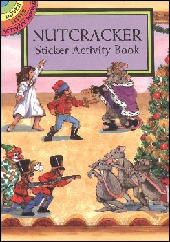 Nutcracker Small Format Sticker Activity Book