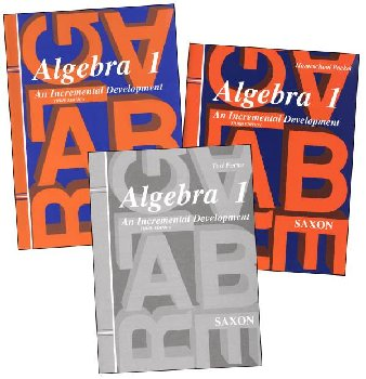 Saxon Algebra 1 Homeschool Kit 3ED