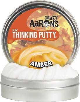 Amber Putty - Large Tin (Glow in the Dark)
