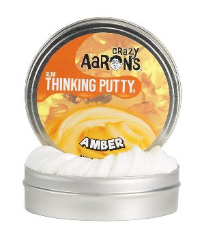 Amber Putty - Small Tin (Glow in the Dark)