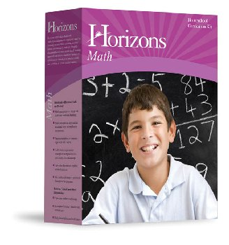 Horizons Math K Boxed Set