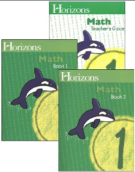 Horizons Math 1 Boxed Set