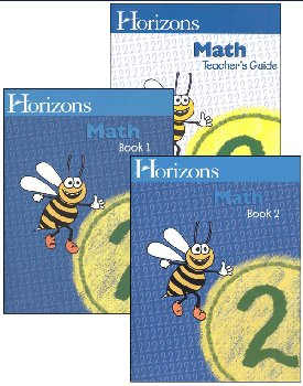 Horizons Math 2 Boxed Set