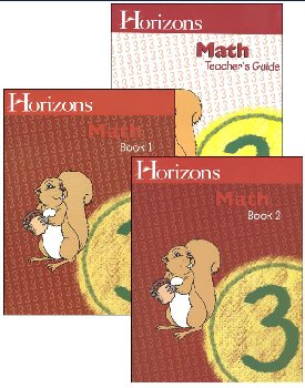Horizons Math 3 Boxed Set