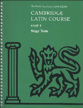 Cambridge Latin Course Unit 3 Stage Tests