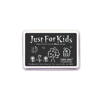 Black Washable Ink Pad