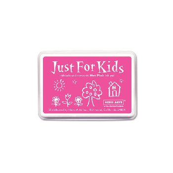 Hot Pink Washable Ink Pad