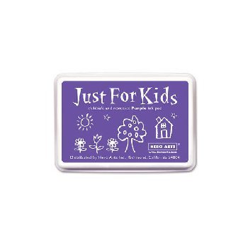 Purple Washable Ink Pad