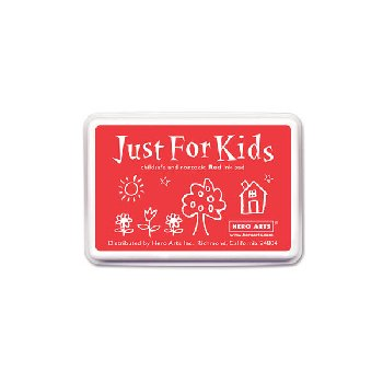 Red Washable Ink Pad