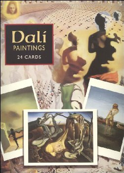 Dali 24 Art Postcards