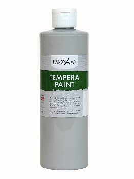 Gray Tempera Paint
