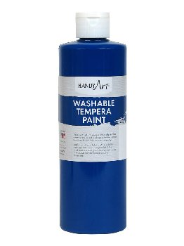 Blue Washable Tempera Paint